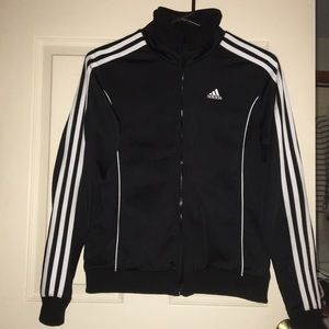 Adidas track jacket sz small